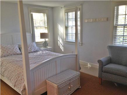 Brewster Cape Cod vacation rental - Master bedroom with full bath and flatscreen tv