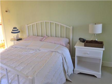 Brewster Cape Cod vacation rental - Upstairs bedroom with full size bed and flatscreen tv