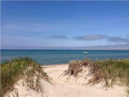 Brewster Cape Cod vacation rental - Beach at end of private lane