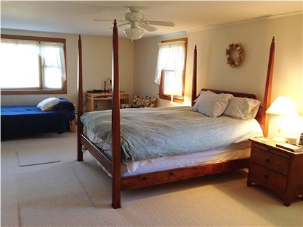 Brewster Cape Cod vacation rental - Master Bedroom with full bath, Queen and double futon