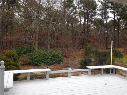 Brewster Cape Cod vacation rental - Deck with privacy