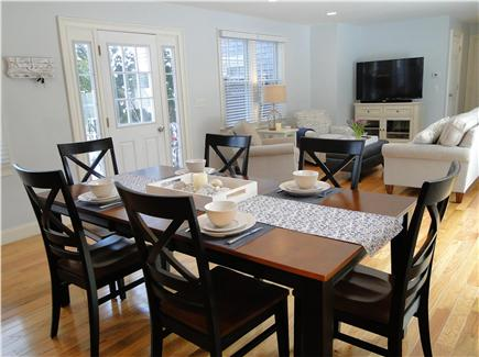 Harwich Port Cape Cod vacation rental - Bright dining and living areas