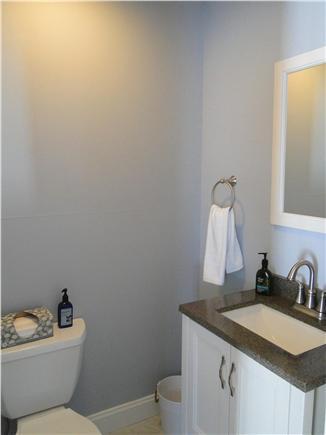 Harwich Port Cape Cod vacation rental - Main floor powder room