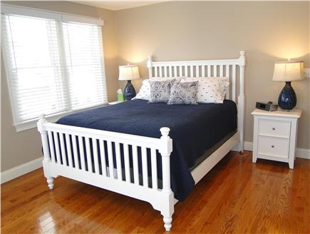 Harwich Port Cape Cod vacation rental - Master bedroom – queen bed, flatscreen TV