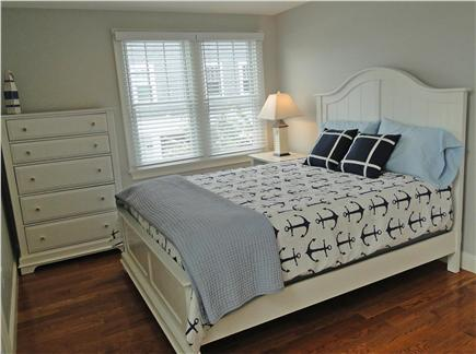 Harwich Port Cape Cod vacation rental - Third queen bedroom, with doors to balcony
