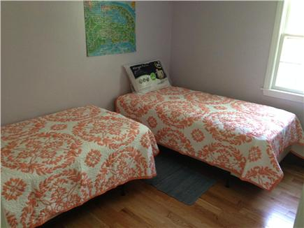 Chatham Cape Cod vacation rental - 2nd bedroom on main floor with 2 twins