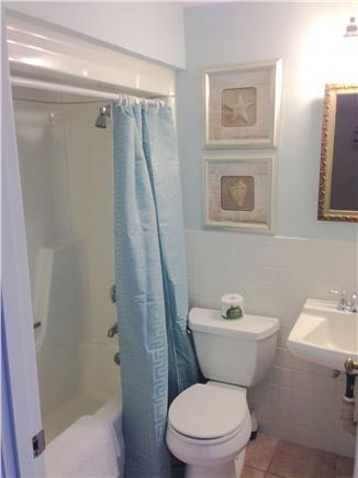 Chatham Cape Cod vacation rental - One of the 2 bathrooms.  1 has tub/shower, other has stall