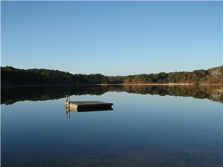 Chatham Cape Cod vacation rental - A look at the private float dock to enjoy!