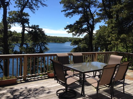 Chatham Cape Cod vacation rental - A look at Deck & View From Deck