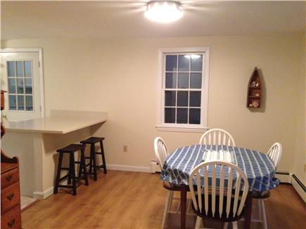 Chatham Cape Cod vacation rental - A look at dining area and toward kitchen