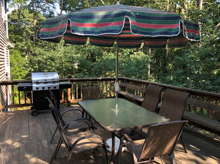 Eastham Cape Cod vacation rental - Deck off of the Dining Room