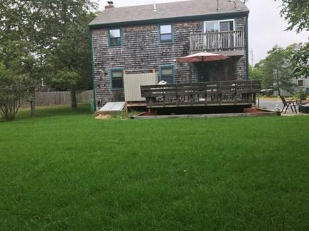 Harwich  Cape Cod vacation rental - Back yard