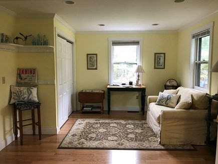 Harwich  Cape Cod vacation rental - Den with twin sofa bed