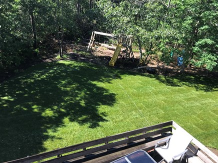 Harwich  Cape Cod vacation rental - Back yard