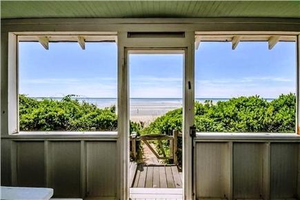 Eastham Cape Cod vacation rental - View of Cape Cod Bay from porch