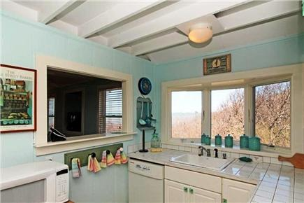 Eastham Cape Cod vacation rental - Kitchen with views of the water