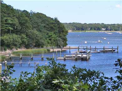 Cotuit Cotuit vacation rental - View of the Cowyard and North Bay from the house