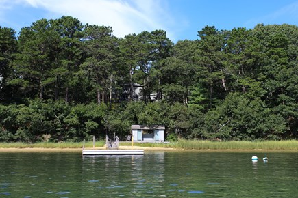 Cotuit Cotuit vacation rental - Float, dock, beach, baththouse, path up to the house