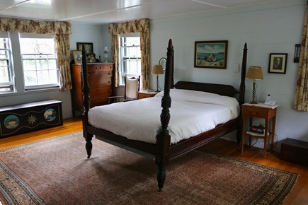 Cotuit Cotuit vacation rental - Master bedroom with view of the Cowyard Bay