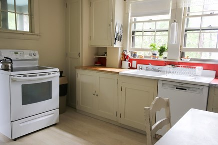 Cotuit Cotuit vacation rental - Kitchen with view of the Cowyard Bay