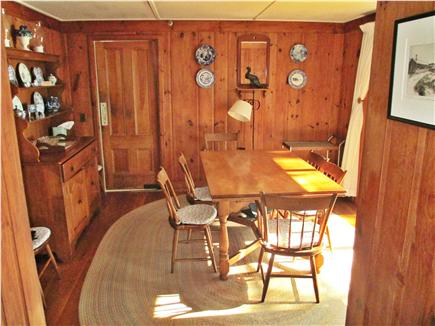 Cotuit Cotuit vacation rental - Dining room with picture window to the right