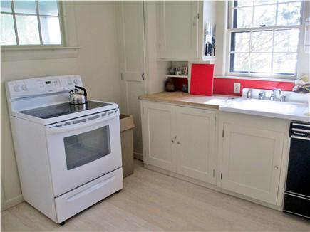 Cotuit Cotuit vacation rental - Traditional Cape-style kitchen, with view of the water