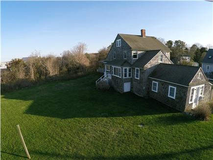 Bourne, Sagamore Beach Cape Cod vacation rental - Spacious yard, perfect for afternoon whiffle ball!