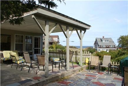 Bourne, Sagamore Beach Cape Cod vacation rental - Oceanview from outdoor patio.