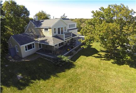 Sandwich Cape Cod vacation rental - Fantastic outdoor porch and yard.