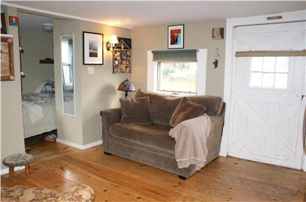 Sandwich Cape Cod vacation rental - Living area in guest cottage.