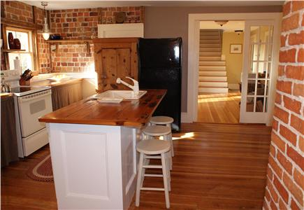 Sandwich Cape Cod vacation rental - Kitchen in main house.