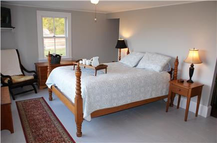 Sandwich Cape Cod vacation rental - Master Bedroom in main house.