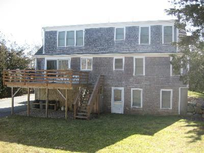Dennis Cape Cod vacation rental - Back view of house