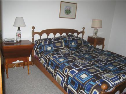 Dennis Cape Cod vacation rental - 1st floor master bedroom with queen bed and bath