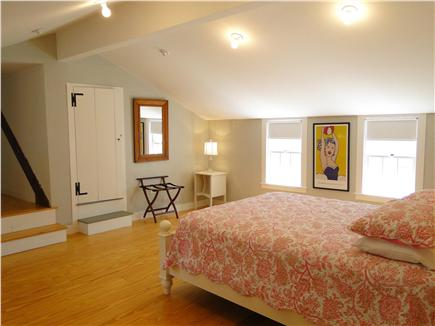 Dennis Cape Cod vacation rental - Queen bedroom upstairs adjoins second bedroom
