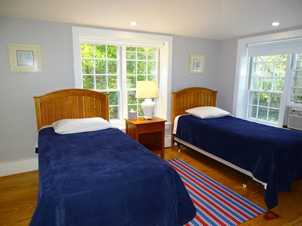 Dennis Cape Cod vacation rental - Twin bedroom with skylight on first floor