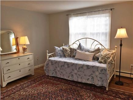Chatham Cape Cod vacation rental - Trundle bed in upstairs bedroom (with two full sized beds)