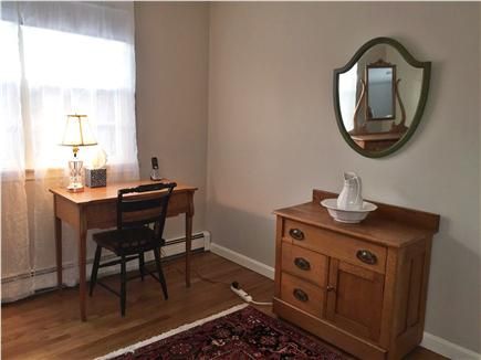 Chatham Cape Cod vacation rental - Upstairs Bedroom furnished with warm antiques