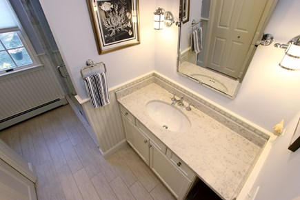 Chatham Cape Cod vacation rental - Light and bright bathroom with spacious vanity
