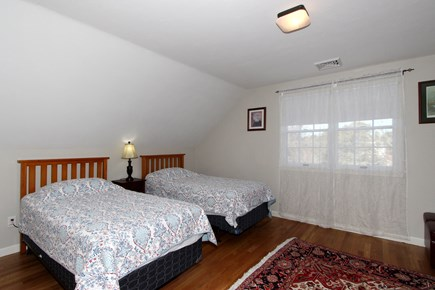 Chatham Cape Cod vacation rental - Two twin size beds in large upstairs bedroom
