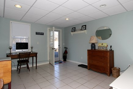 Chatham Cape Cod vacation rental - Walk-out basement-fully finished with TV and game room