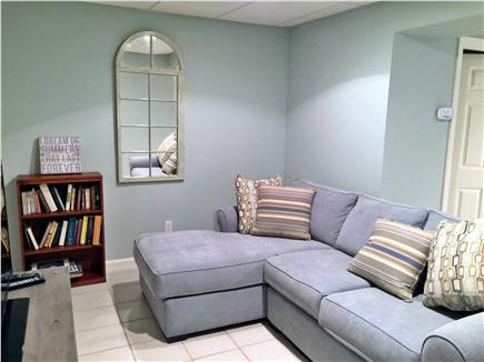 Chatham Cape Cod vacation rental - Downstairs living room with second TV