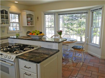 Yarmouth Cape Cod vacation rental - Sunny kitchen, view of kitchen dining area
