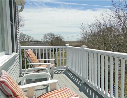 Yarmouth Cape Cod vacation rental - Upper deck, perfect for morning coffee, water views