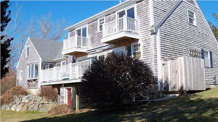 Barnstable Cape Cod vacation rental - Rear of house in early spring