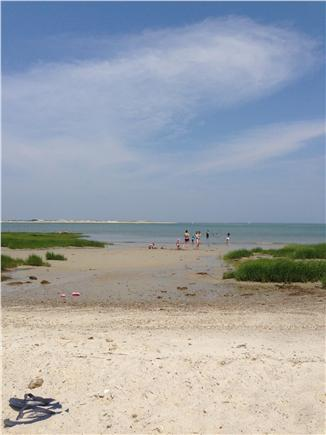 Barnstable Cape Cod vacation rental - Beach (3 hours before low tide) -  8 min. walk from house