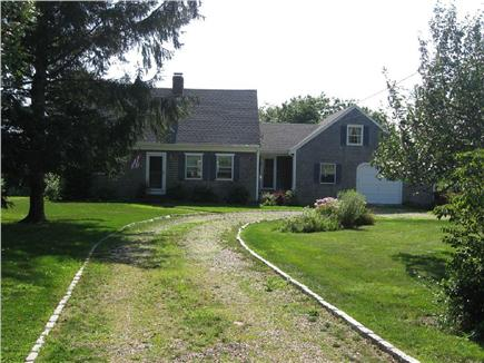 Barnstable Cape Cod vacation rental - View of house from conservation land