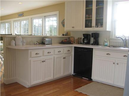Barnstable Cape Cod vacation rental - Kitchen (from kitchen door)