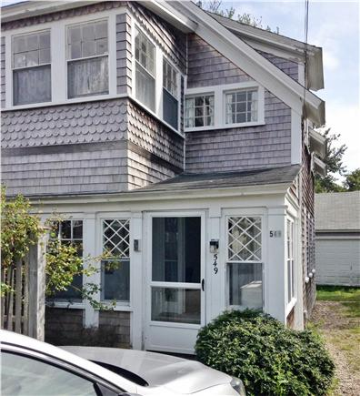 Harwich Port Cape Cod vacation rental - Front view and entrance