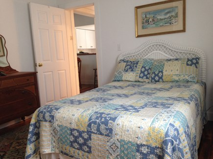 Harwich Port Cape Cod vacation rental - First floor queen  bedroom next to full bath